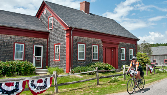 Maine Biking Tour